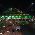 Jasa Marga Berlakukan Contraflow Antara Km 47 dan Km 61 Jalan Tol Jakarta-Cikampek arah Cikampek