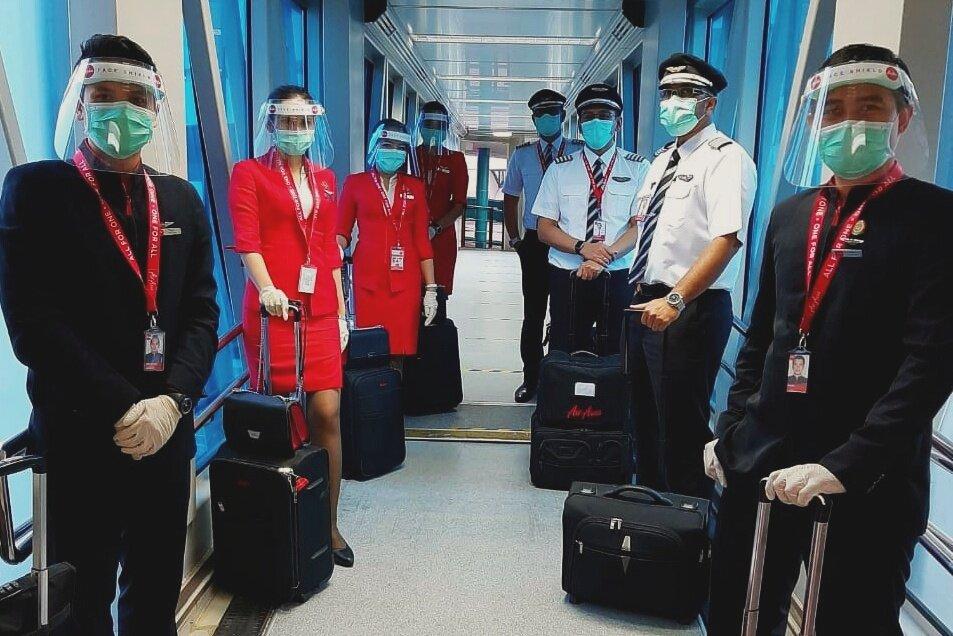 AirAsia Kembali Layani Penerbangan Khusus Repatriasi 164 Warga Negara India 1