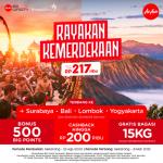 AirAsia Rayakan HUT ke-75 RI dengan Promo Merdeka