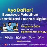 Beasiswa DTS 2020 Daring, Stimulus Kominfo untuk Ciptakan Talenta Digital