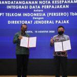 DJP dan Telkom Perkuat Kerja Sama melalui Integrasi Data Perpajakan