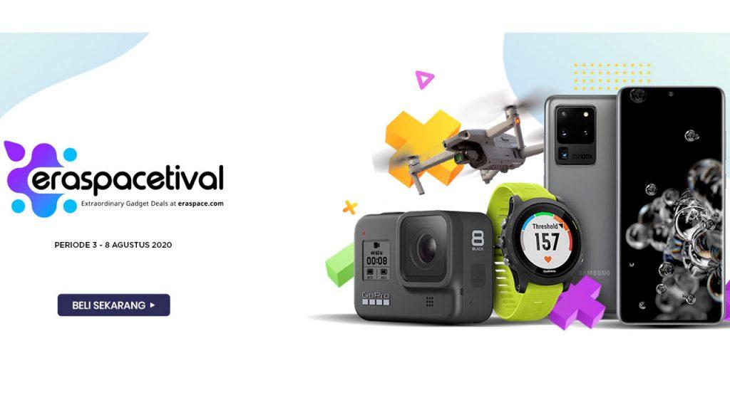 Festival Belanja Gadget Online Terbesar dan Terlengkap, Eraspacetival, Kembali Datang 1