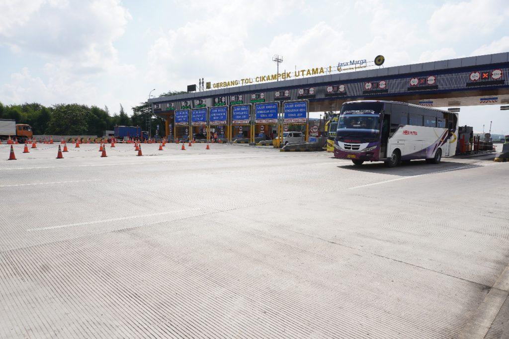 H-1 dan H Libur Tahun Baru Islam 1442 H, Jasa Marga Catat 317 Ribu Kendaraan Meninggalkan Jakarta 1
