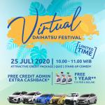 Hadir Lagi! Kuy, Beli Mobil Baru di Virtual Daihatsu Festival