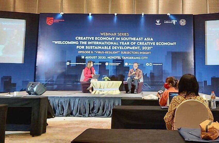 Indonesia Ajak Pelaku Kreatif se-ASEAN Rumuskan Strategi Jelang Tahun Internasional Ekraf 2021 1