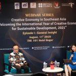 Indonesia Usung Isu Empat Pilar Ekonomi dalam Forum ASEAN Jelang Tahun Internasional Ekraf