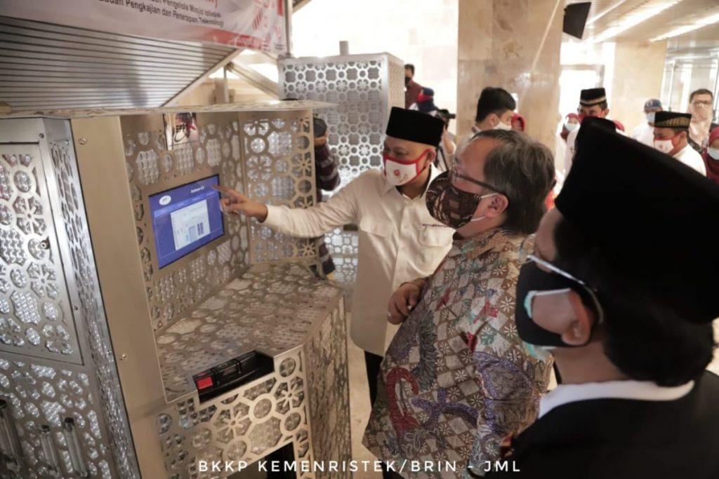 Menristek/Kepala BRIN Dorong Masjid Istiqlal sebagai Pusat Peradaban Islam yang Memanfaatkan Teknologi 1