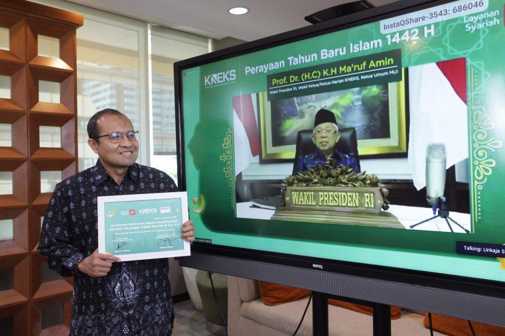 Kolaborasi Lintas Sektor Layanan Syariah LinkAja Perkuat Ekosistem Digital Syariah Indonesia 1