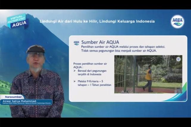 Kunjungan Virtual Pabrik AQUA: Lindungi Air dari Hulu ke Hilir, Lindungi Keluarga Indonesia 1