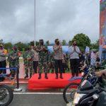 Panglima TNI Pimpin Apel Pelepasan Satgas Pendisiplinan Protokol Kesehatan Papua