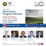 Peluncuran Program Mentari: Kemitraan Energi Rendah Karbon Inggris - Indonesia