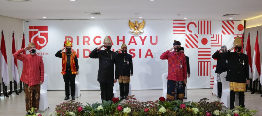 Peringatan HUT Kemerdekaan RI ke-75: Indonesia Maju, Bebas dari Korupsi 1