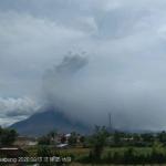 Perkembangan Terkini Gunung Sinabung, Tremor Masih Terjadi