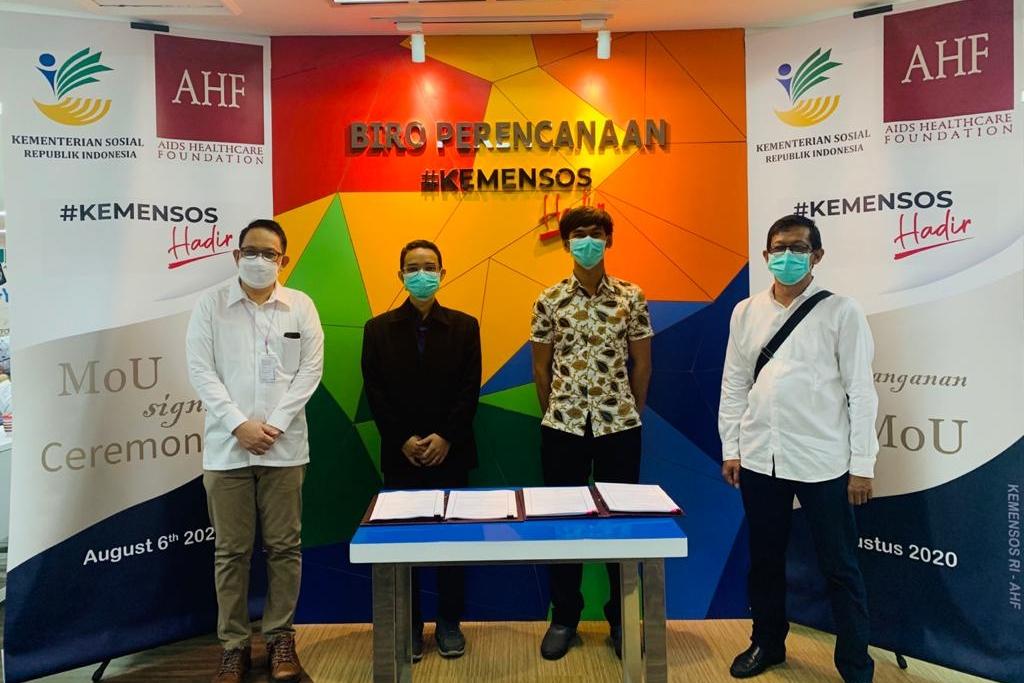 Perkuat Penanganan ODHA, Kemensos Gandeng Aids Healthcare Foundation 1