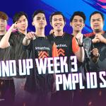 Round Up Week 3 PMPL ID Season 2: Pergantian Puncak Klasemen