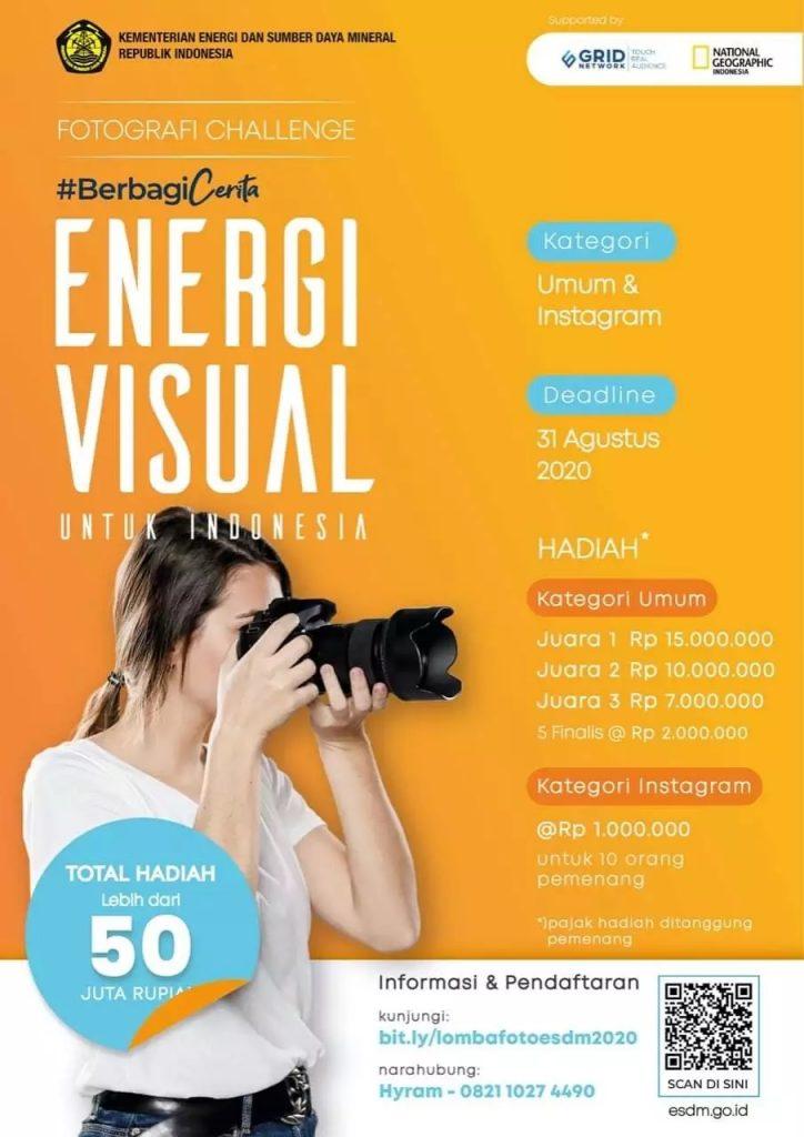 Sambut Hari Jadi Pertambangan dan Energi, Kementerian ESDM Kembali Gelar Lomba Foto dan Jurnalistik 1