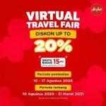 Sambut Hari Kemerdekaan, AirAsia Selenggarakan Virtual Travel Fair dan Promo Rapid Test