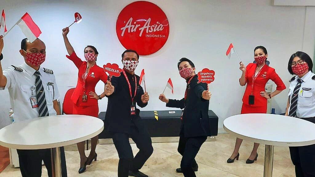 Semarakkan Hari Kemerdekaan bersama AirAsia Indonesia 2