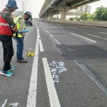 Tanggal 10 Agustus 2020, Jasa Marga Kembali Lakukan Rekonstruksi Rigid Pavement Ruas Jalan Tol Jakarta-Cikampek