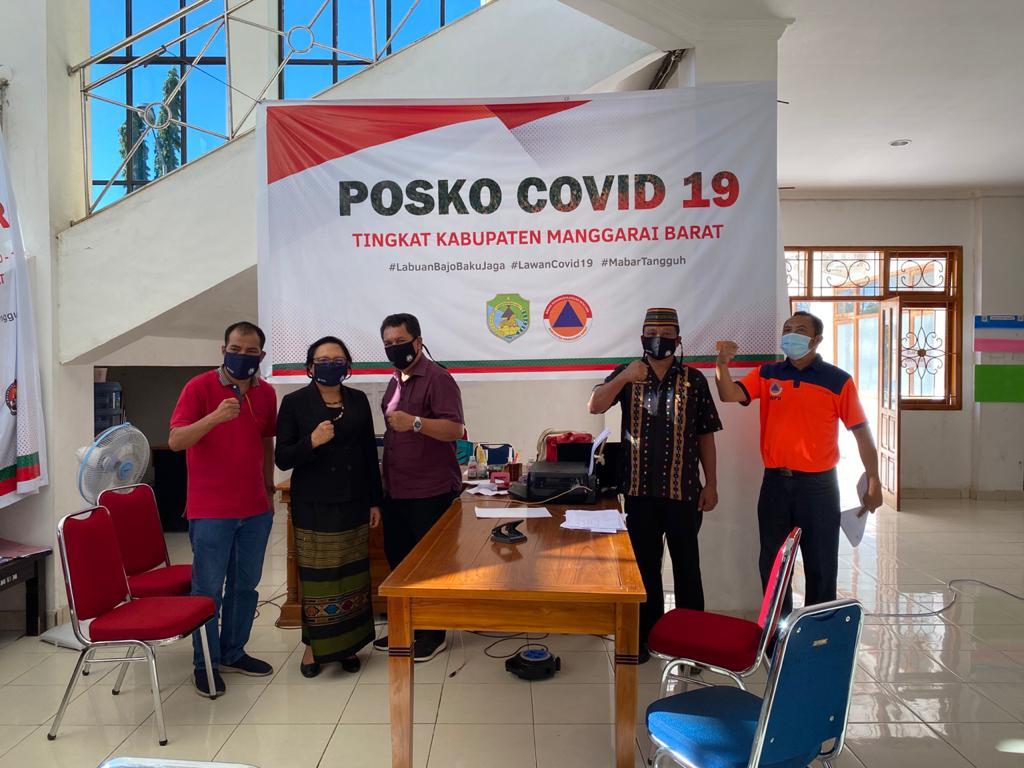 Terima Bantuan Penanganan COVID-19 Dari KESDM, Wakil Bupati Manggarai Barat: Sungguh Bermanfaat Bagi Kami 1