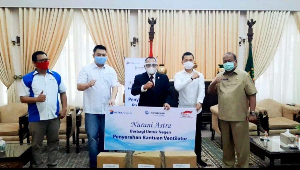 Astra Financial Tambah 3 Ventilator untuk Sumatera Utara, Hingga Total Jadi 5 1