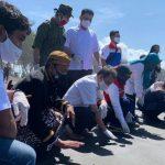 Bentuk Komitmen Pada Lingkungan, Pertamina Lanjutkan Program Konservasi Penyu di Pesisir Pantai Selatan Cilacap