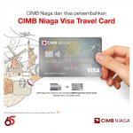 CIMB Niaga dan Visa Persembahkan CIMB Niaga Visa Travel Card