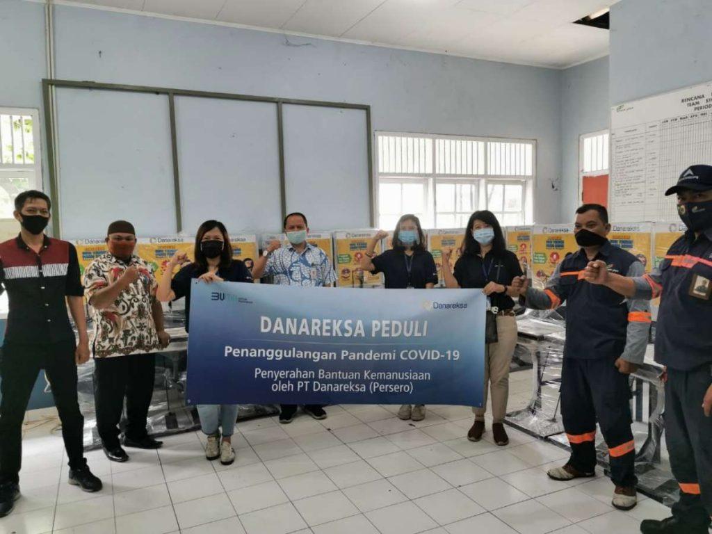 Danareksa Gencar Mengajak Masyarakat untuk Rajin Mencuci Tangan melalui Donasi Wastafel 1