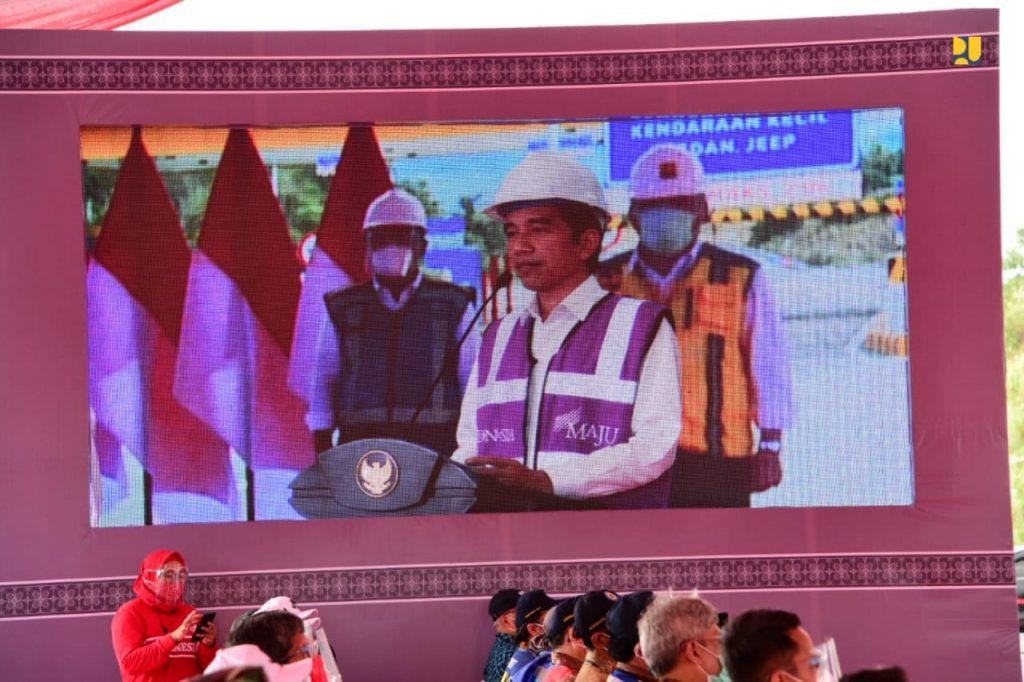 Diresmikan Presiden Jokowi Ruas Tol Manado - Danowudu 26 km, Pertama di Sulawesi Utara 1