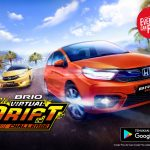 Gandeng Gameloft, Honda Luncurkan Mobile Game Brio Virtual Drift Challenge di Indonesia