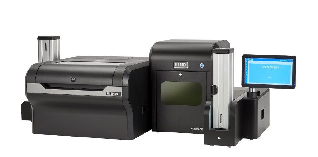 HID Global Memperkenalkan Printer HID ELEMENT untuk Mencetak Kartu Identitas Berkualitas dalam Jumlah Besar bagi Sektor Industrial dan Layanan Finansial 1