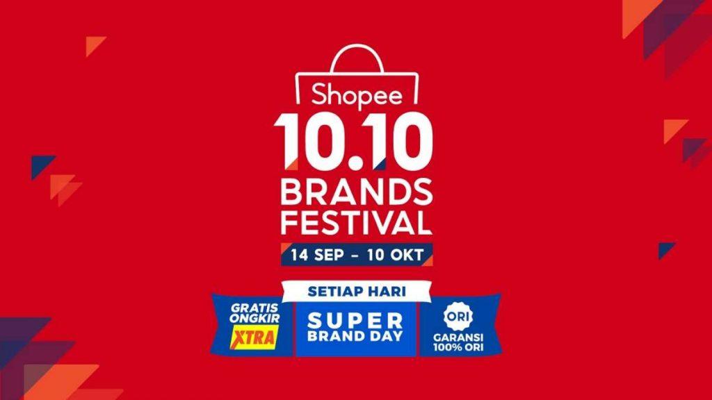 Hadirkan Kembali Kampanye 10.10 Brands Festival, Shopee Menjamin 100% Orisinalitas Produk Brand di ShopeeMALL 1