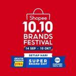 Hadirkan Kembali Kampanye 10.10 Brands Festival, Shopee Menjamin 100% Orisinalitas Produk Brand di ShopeeMALL