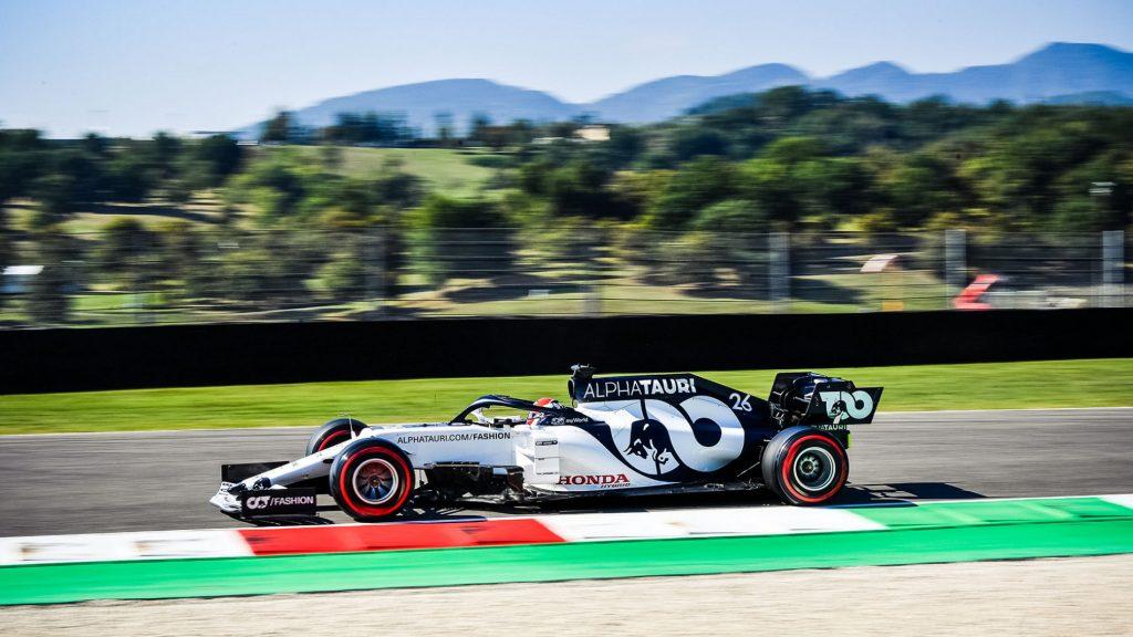 Honda Raih Podium pada Seri Balap F1 Grand Prix Tuscany untuk Pertama Kalinya 1