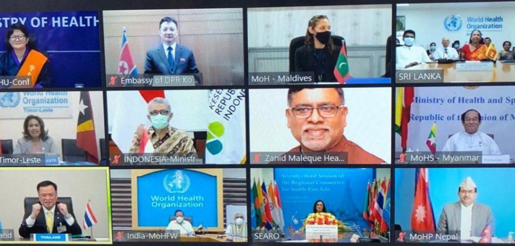 Indonesia Komitmen Tingkatkan Inovasi Kesehatan Dalam Penanganan COVID-19 1