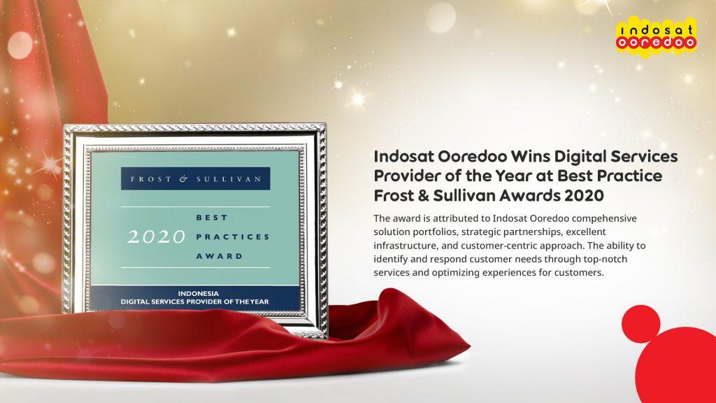 Indosat Ooredoo Meraih Frost & Sullivan Best Practices Award Sebagai '2020 Indonesia Digital Services Provider of the Year' 1