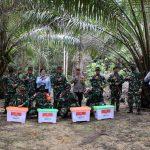 Kasum TNI Tinjau Pos Pamtas RI-Malaysia Di Wilayah Kodam XII/Tanjung Pura