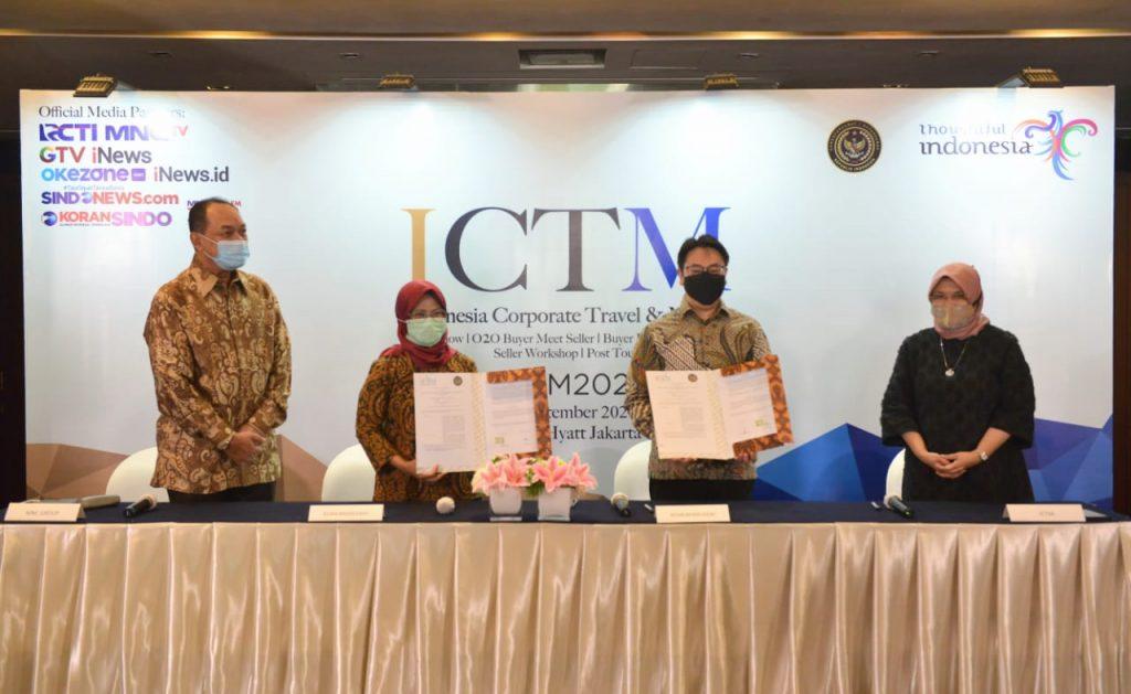 Kemenparekraf Dorong Kebangkitkan Industri MICE Dalam Negeri Lewat ICTM 2020 1