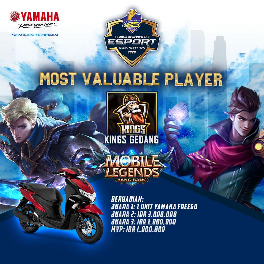 Ini Dia Jagoan Mobile Legend Yamaha Generasi 125 E-Sport Competition (YGEC) 2020 ! 3