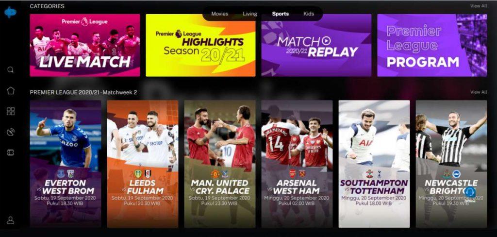 Mola TV App Hadir di Indihome dengan Berbagai Tayangan Liga Bergengsi 1