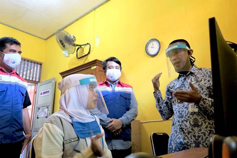 PT Pertamina Lubricants Bangun Semangat Digitalisasi Siswa Difabel di Cilacap 1