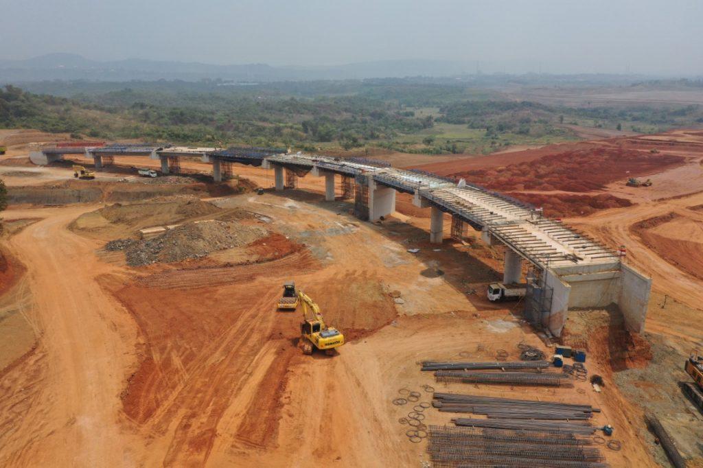 Pekerjaan Pemasangan Gelagar Jembatan Proyek Japek Selatan Dilaksanakan 16-17 September 2020, Pengguna Jalan Diimbau Antisipasi Perjalanan 1