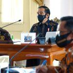 Presiden Instruksikan Pemerintah Daerah Waspadai Tren Penyebaran Covid-19