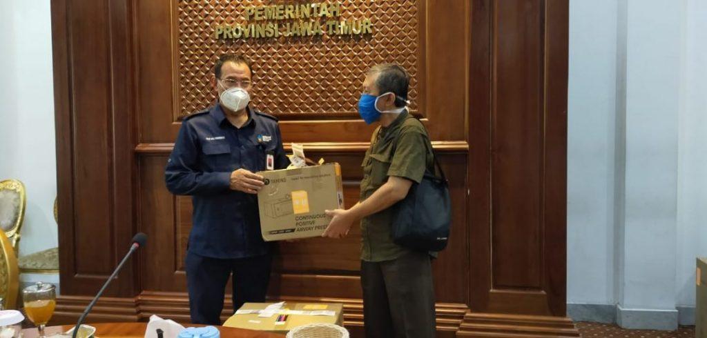 Tiga Poin Penting Kolaborasi Pemerintah Pusat dan Daerah dalam Penanganan Covid-19 di wilayah Jawa Timur 1