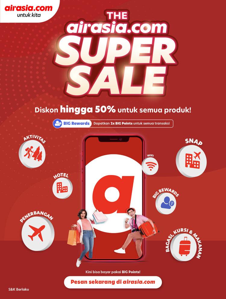 Airasia.com Perkenalkan Versi Terbaru sebagai Aplikasi Super ASEAN 1